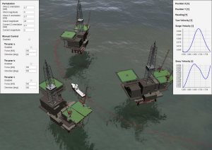 Towards a virtual prototyping framework for ship maneuvering in offshore operations
