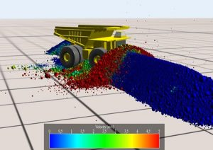 Designing waste rock barriers by advanced numerical modelling