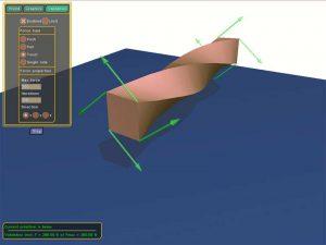 Interactive simulation of elastic deformable materials