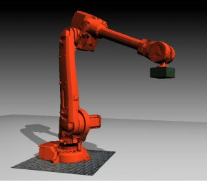 Robot Design Optimization by means of a Genetic Algorithm and Physics Simulation