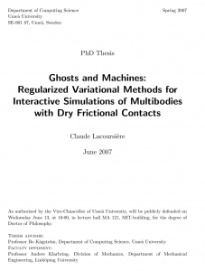 Ghosts and machines: regularized variational methods for interactive simulations of multibodies with dry frictional contacts