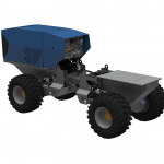 Methodology for Real Time Simulations of Autonomous Utility Vehicles