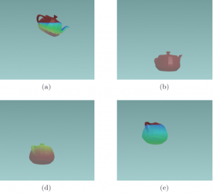 Interactive simulation of hydrodynamics for arbitrarily shaped objects