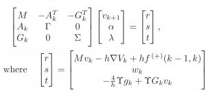 Regularized, stabilized, variational methods for multibodies